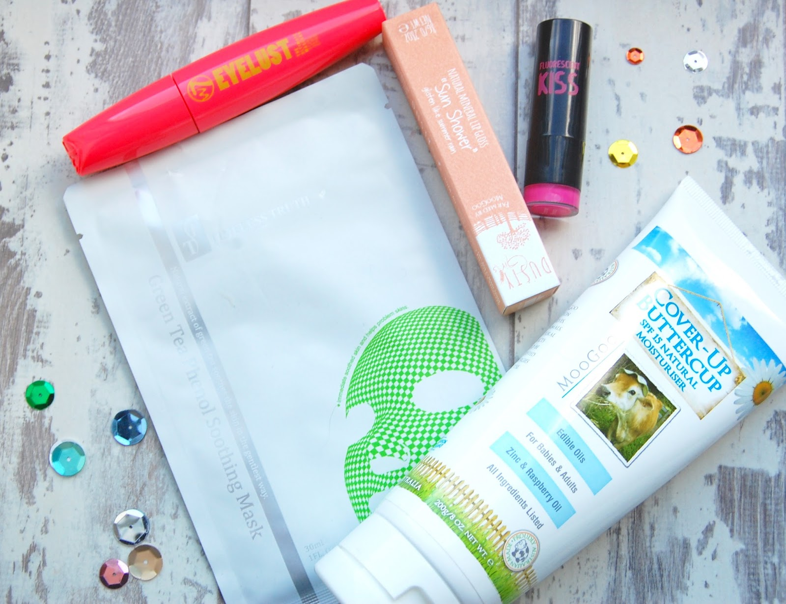 Blogger Beauty Box contents
