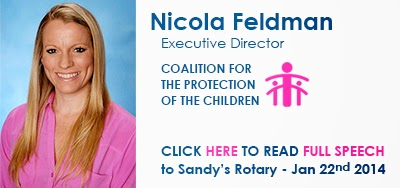 Nicola Feldman speech - Rotary - Jan 22, 2014