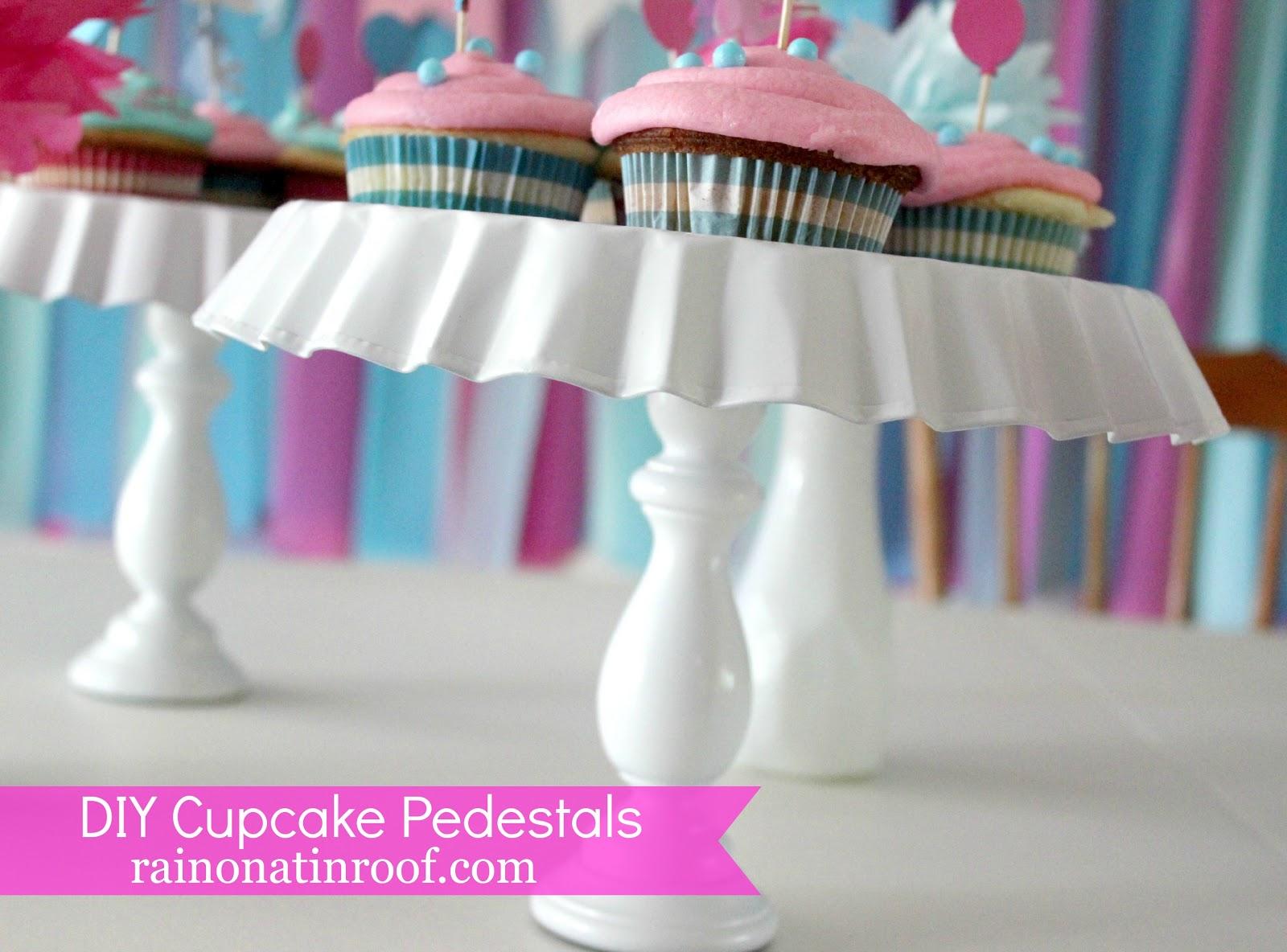 Easy DIY Cupcake Stand
