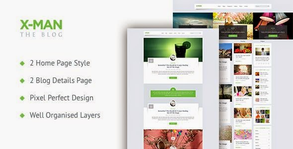 Best Personal Blogging PSD Template
