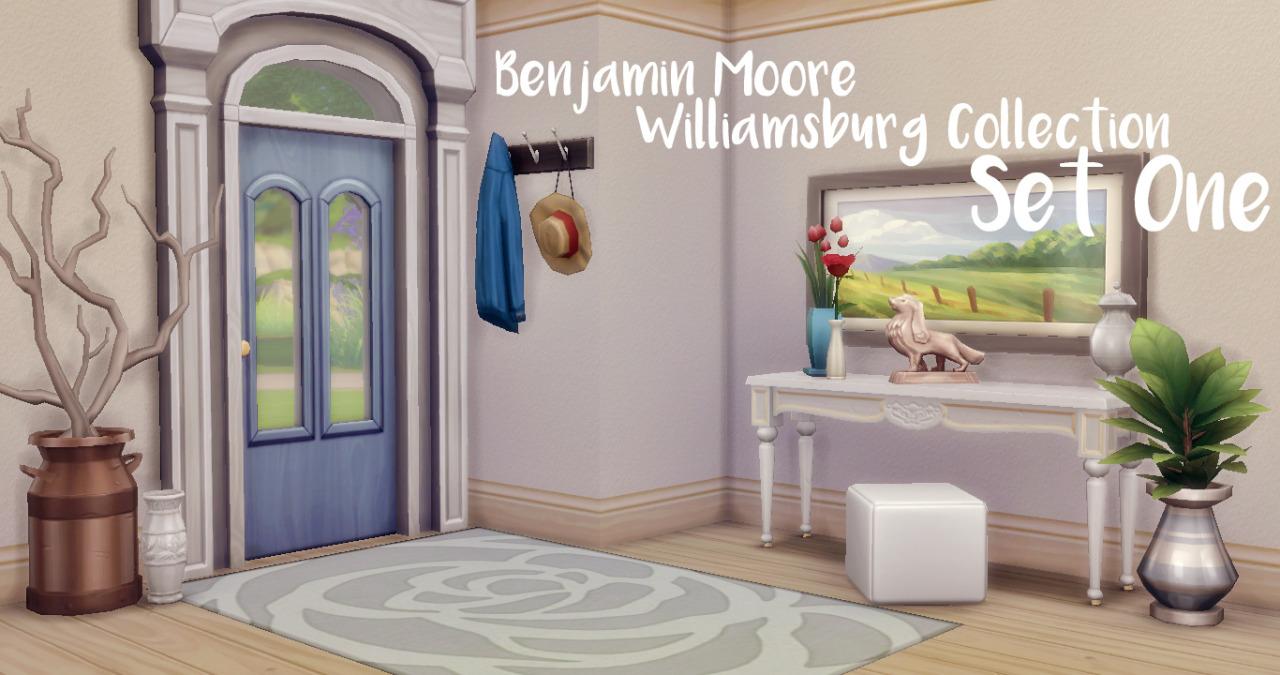 my sims 4 blog benjamin moore wallpaper by javabeandreams