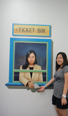 Ticket Box at Trick Eye Museum Hongdae Seoul