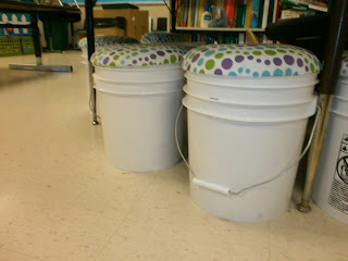 Your Teacher S Aide Diy Bucket Seats With Storage