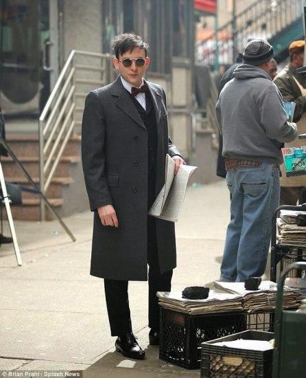 Robin Lord Taylor el Pigüino de Gotham
