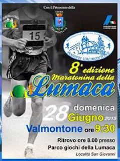 RISULTATI Maratonina della Lumaca 2015