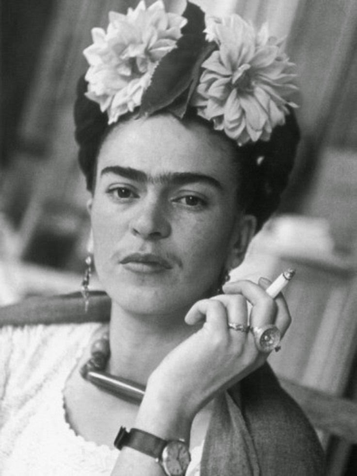 Frida Kahlo painting