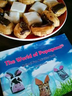 popagami and cake