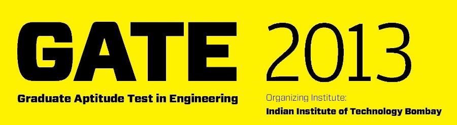 Graduate Aptitude Test in Engineering-GATE 2013