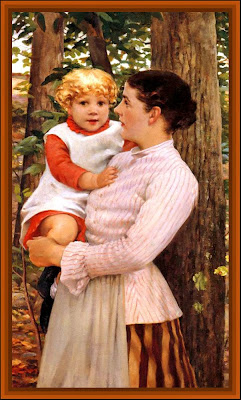 madre e hija vintages de J.C Beckwith