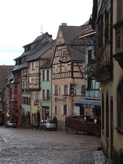Riquewihr's colourful half timber houses