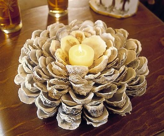 Econotas.com: candelabros de navidad con materiales reciclados
