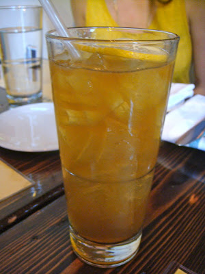 Sardinian iced tea at Coppa, Boston, Mass.