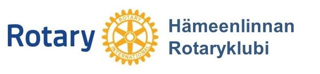 Hämeenlinnan Rotaryklubin blogi