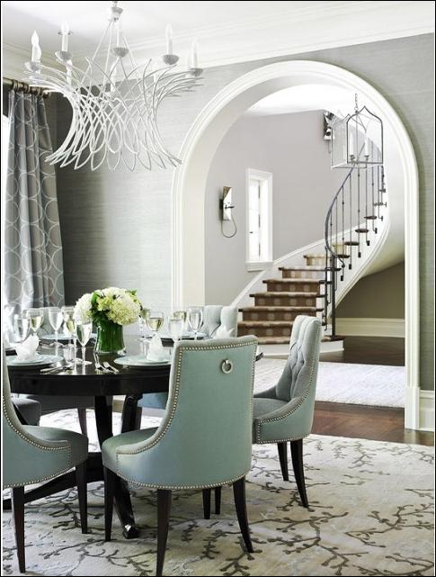 Transitional Dining Room Design Ideas | Room Design Inspirations