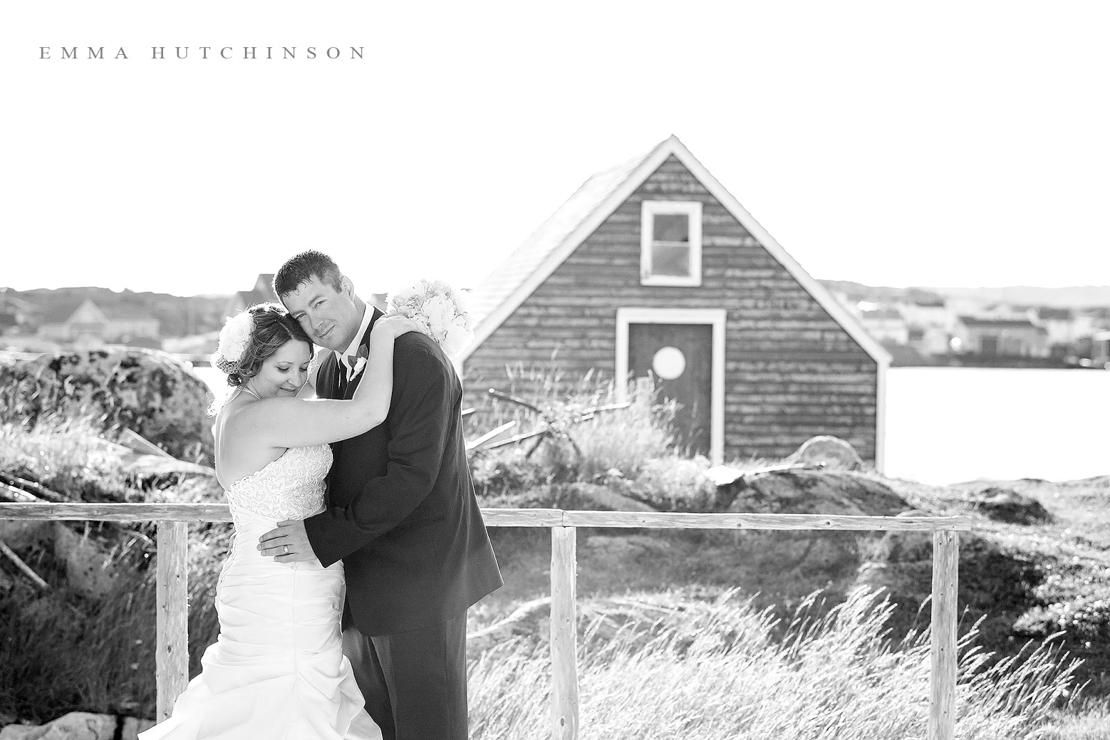 Weddings in Tilting, Fogo Island - wedding photography by Emma Hutchinson