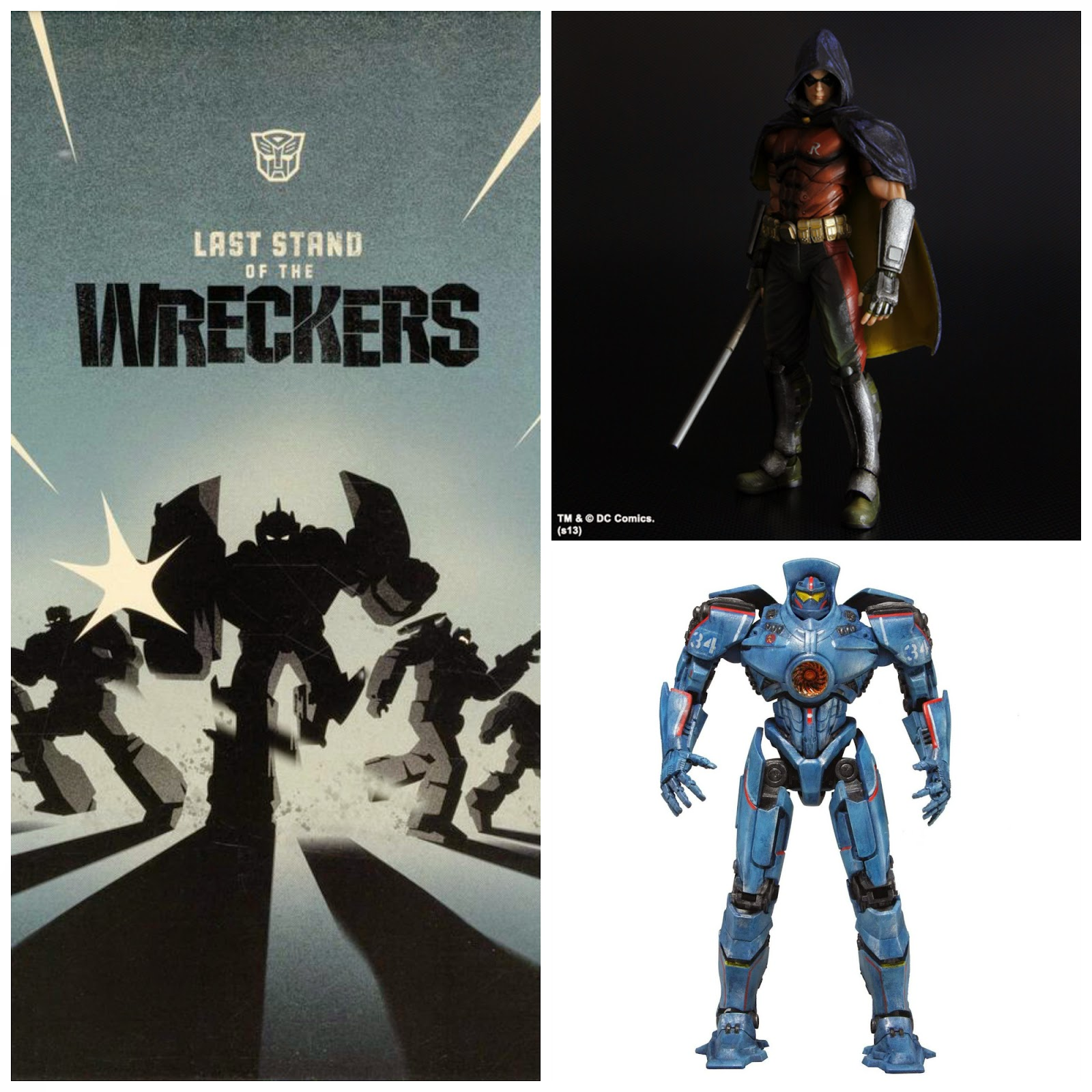 Last Stand of the Wreckers, Gypsy Danger, Play Arts Kai Robin