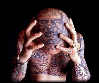 Weird Tattoo Design Illusion