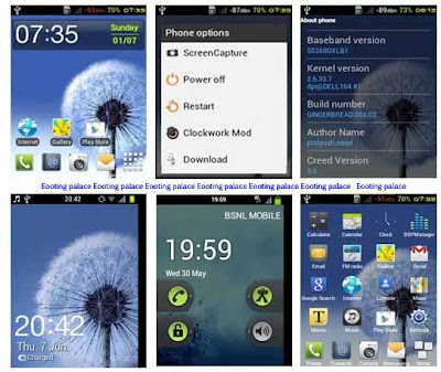 Creed Rom v3.5 for Samsung Galaxy y GT-S5360