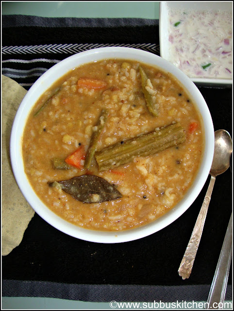 Bisibela bath (Sambar Rice)