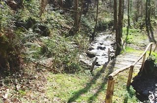 Taramundi, puente sobre el arroyo Frou
