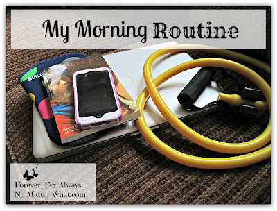 Morning Routine Homeschooling Exercise