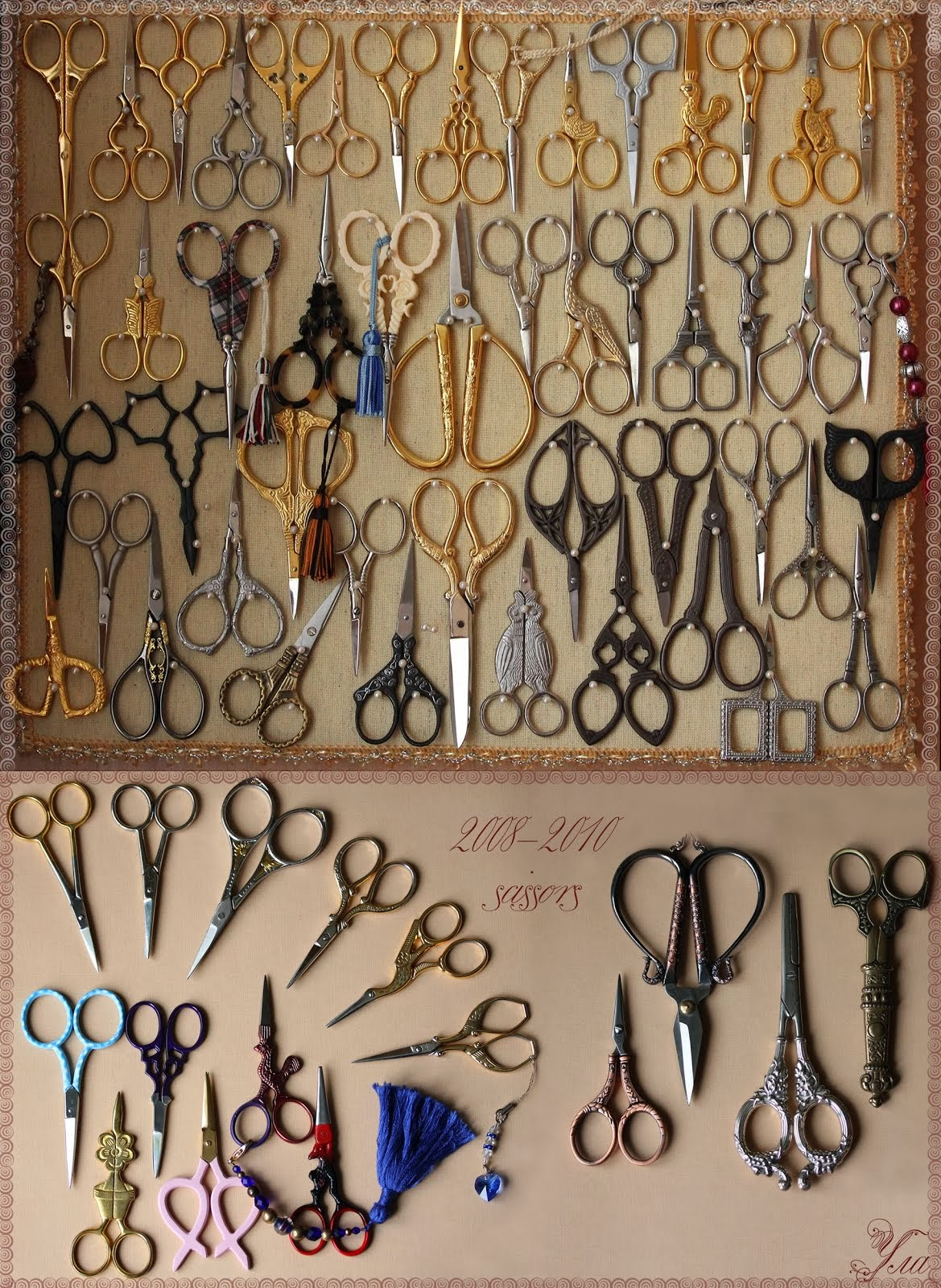 Коллекция ножниц (My collection of scissors)