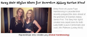 Sexy Hair Styles Stars for Downton Abbey Series Five!