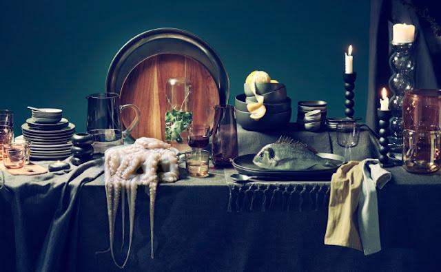 Einrichten mit IKEA – die neue Sittning Kollektion mit schwarzer Keramik für den gedeckten Tisch