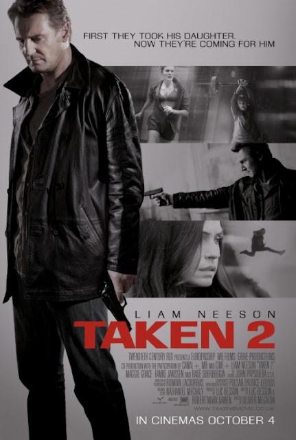 Taken 2 (2012) DVDRip 400Mb Mkv
