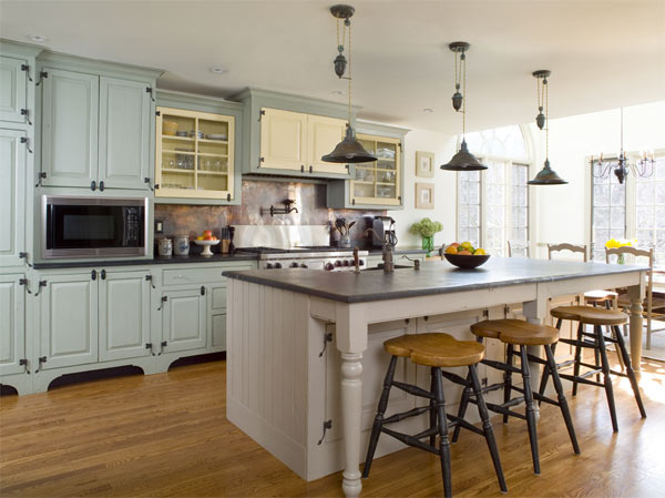 French Country Kitchen Dining tables - The actual Decoration of ...