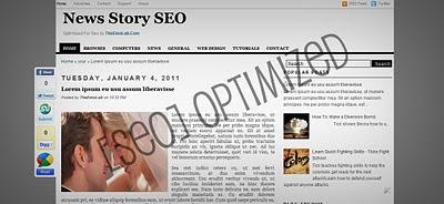 Free Premium Seo Blogger Templates