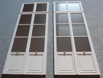 Petit Trianon,Porte fenêtre,Miniature,Maquette