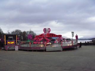 Funfair at Loch Lomond
