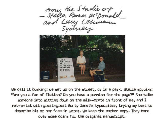 The Studio of Stella Rosa McDonald and Lucy Lehmann