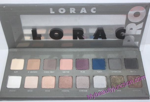 Lorac Pro 2 eyeshadow palette review, swatches, EOTD