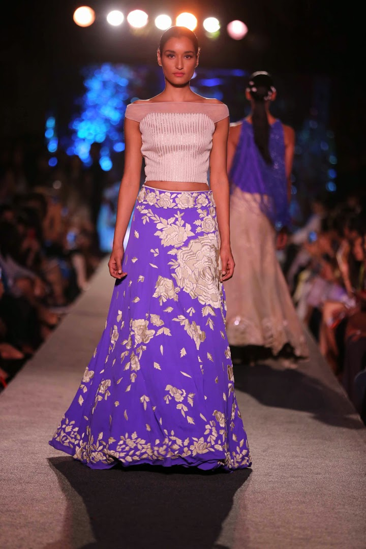 Blue Runway collection By Manish Malhotra | Stylish By Nature By ...