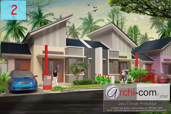cluster minimalis, desain rumah, type rumah kecil, desain rumah mungil