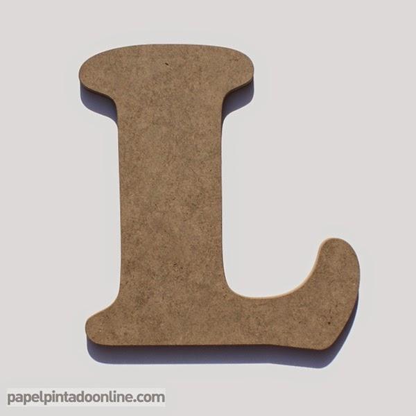 Papel pintado letras de madera - Letras en madera ...
