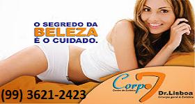 CLINICA DE ESTÉTICA CORPO 7 EM BACABAL-MA FONE (99) 3621-2423