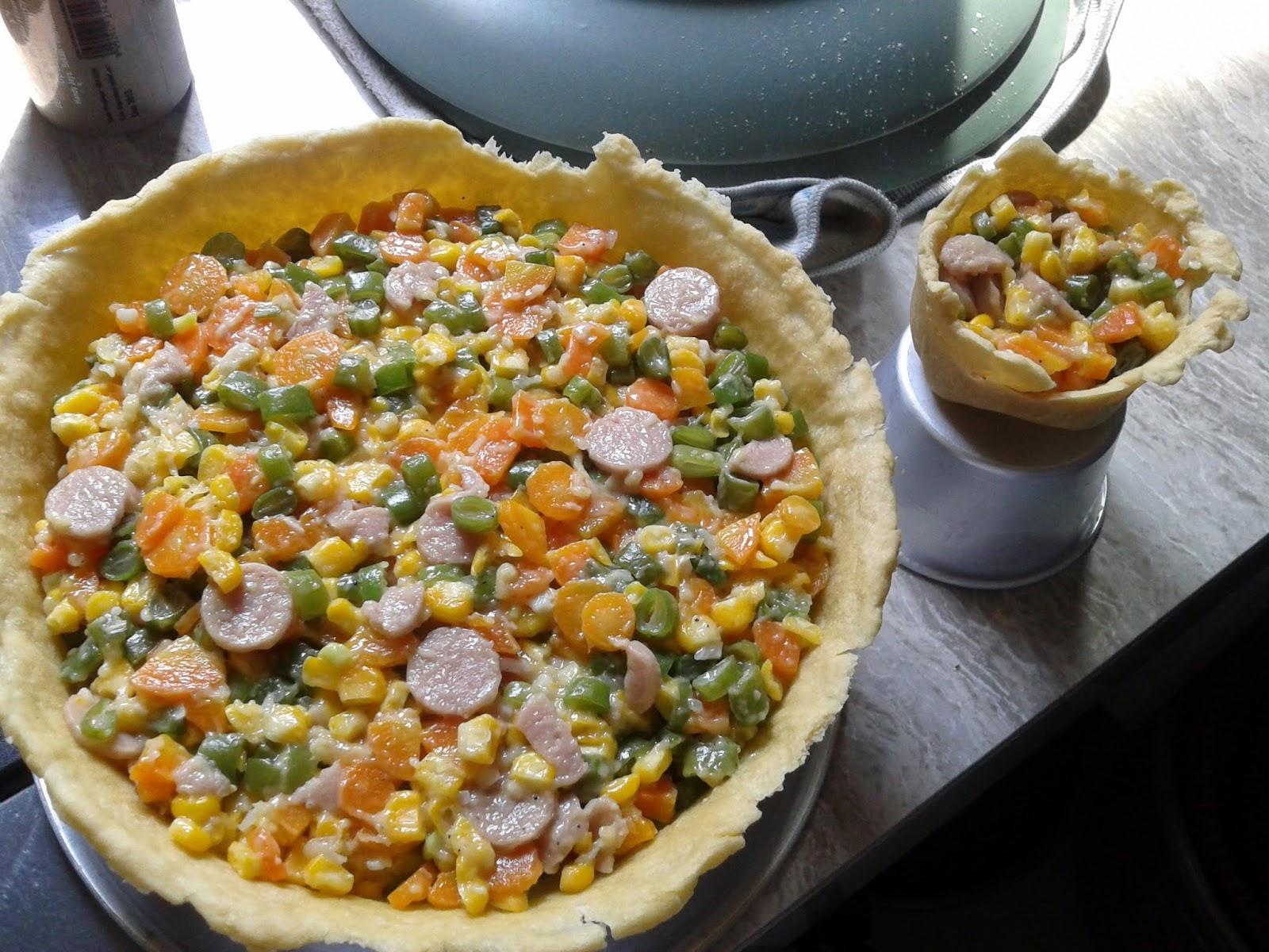 Resep Masakan Bergizi Pie Sayuran Spesial