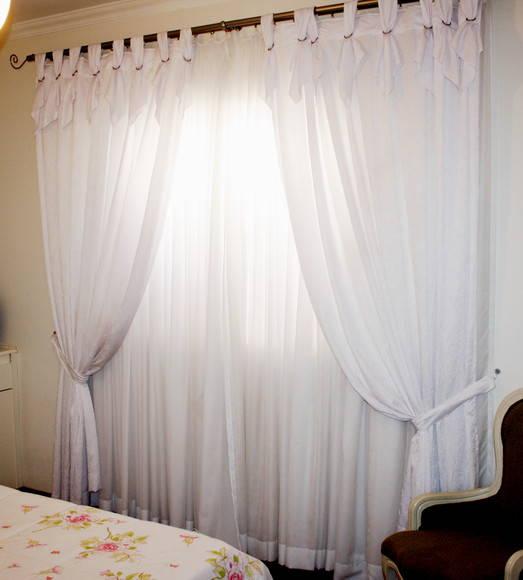 Construindo minha casa clean tipos de cortinas for Tipos de cortinas modernas