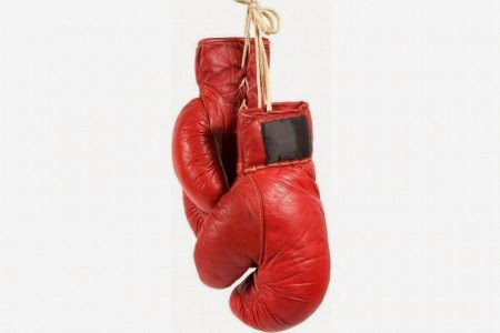 Animated boxing glove