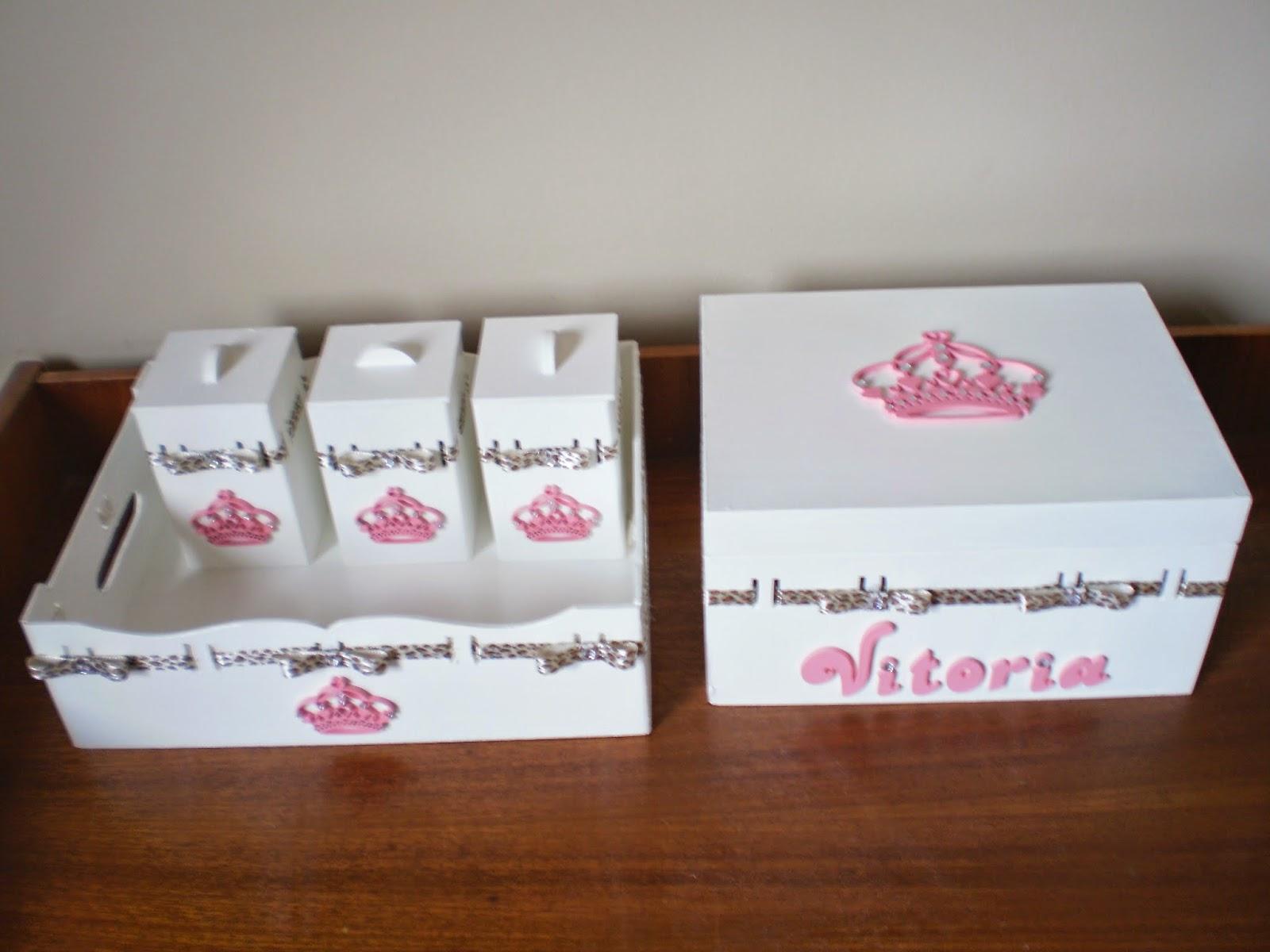 Patricia Artes e Design Kit Bebê Princesa, Kit tema Princesa, Kit passa fita
