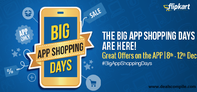 LIVE:Flipkart : Big App Shopping Days
