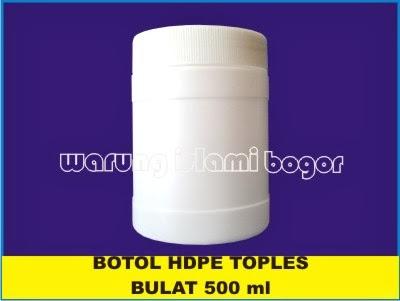 Jual Wadah Lulur Pot HDPE 500ml