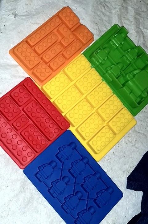 Silicone Lego Style Mold Set