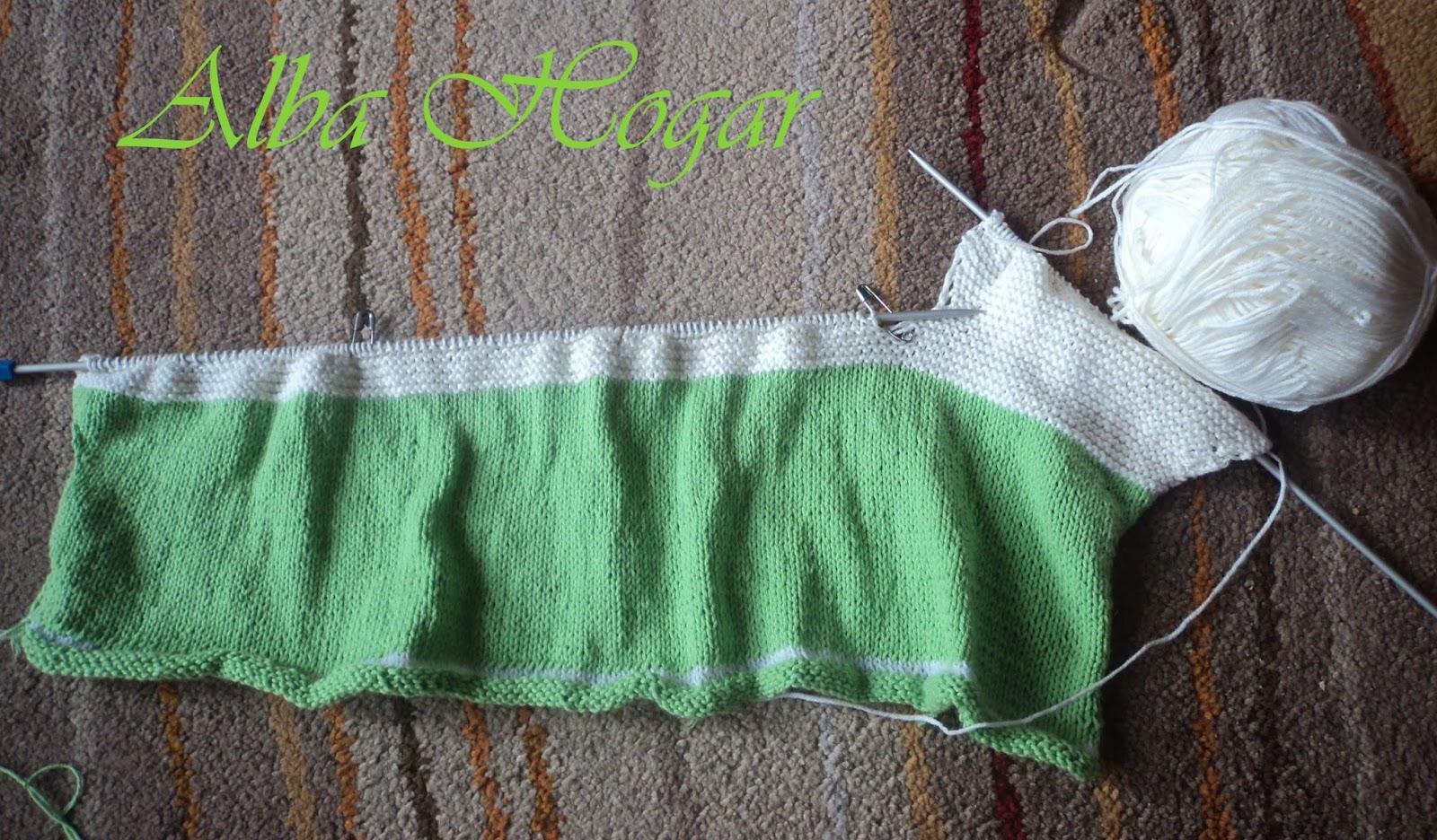jersey de punto bebé alba hogar