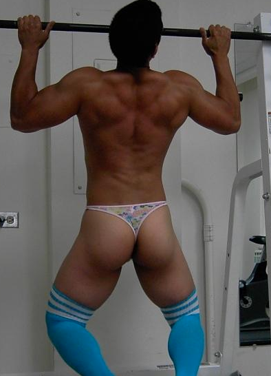 from Zackary gay guys in thongs