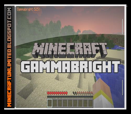 GammaBright mod Minecraft