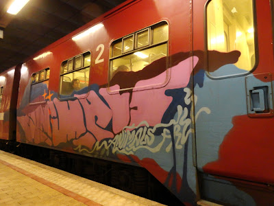 I don't need to travel to do graffiti and I don't need graffiti to travel, but I think it's a fun combination – Beats